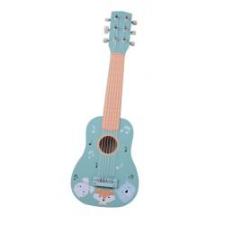 Gitara drewniana zwierzaki 6-cio strunowa