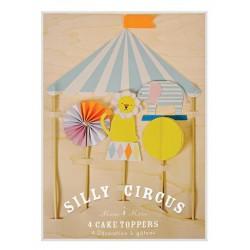 Meri Meri - Topper na tort Cyrk