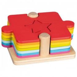 Puzzle i gra kształty