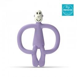 Matchstick Monkey Lavender Purple Gryzak Masujący ze szczoteczką