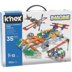 K'Nex - Click & Construct zestaw konstrukcyjny 35 modeli