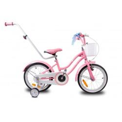 """Rowerek dla dzieci 16"""" Star bike - różowy"""