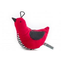 Whisbird Szumiący Ptaszek - czerwień