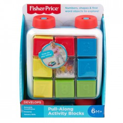 Fisher Price FP Klocki aktywizujące do ciągnięcia