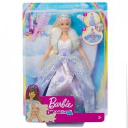 Barbie Księżniczka Lodowa magia