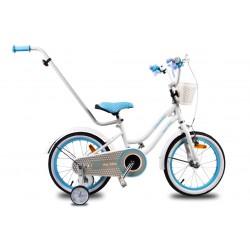 """Rowerek dla dzieci 14"""" Heart bike - biały"""