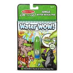 Kolorowanka wodna Malowanka dżungla WaterWOW