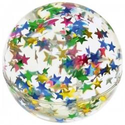 Skacząca piłka z gwiazdkami