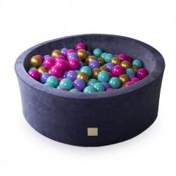 Suchy basen dla dziecka 90x30 cm + 250 piłek - Flower
