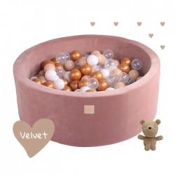 Suchy basen dla dziecka 90x30 cm + 250 piłek - Teddy Bear