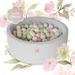 Suchy basen dla dziecka 90x40 cm + 250 piłek - Spring