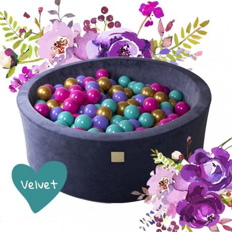 Suchy basen dla dziecka 90x40 cm + 250 piłek - Flower