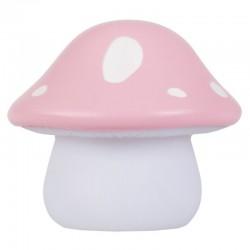A Little Lovely Company - Mała Lampka Różowy Domek grzybek