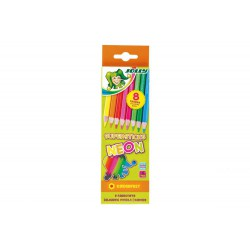 Kredki Supersticks neon 8 kolorów