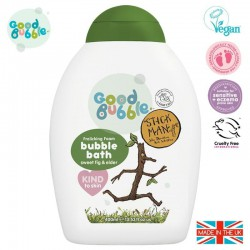 Good Bubble Stick Man Organiczny płyn do kąpieli Noworodka i Niemowlaka Sweet Fig & Elder 400 ml