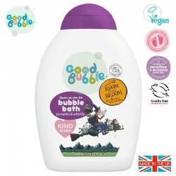 Good Bubble Room on the Broom Organiczny płyn do kąpieli Noworodka i Niemowlaka Pumpkin & Wild Lily 400 ml