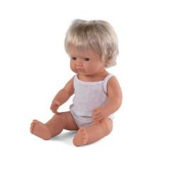 Lalka dziewczynka Europejka 38cm Miniland Doll