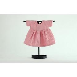 Sukienka muślinowa dla lalki 38 Pinky Winky