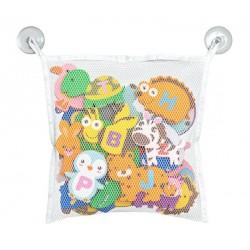 Piankowe zabawki do kąpieli - literki