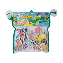 Naklejki do kąpieli farma