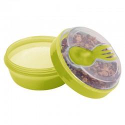 Carl Oscar- N'ice Cup™ Pojemnik śniadaniowy z wkładem chłodzący Lime - Monkey
