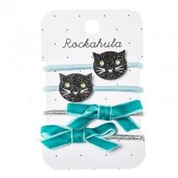 Rockahula Kids - gumki do włosów Black Cats Ponies