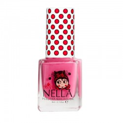 MISS NELLA - Bezzapachowy lakier do paznokci dla dzieci PEEL OFF Pink A Boo