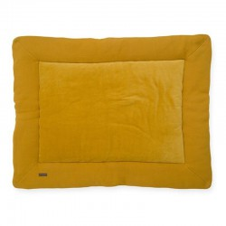 Jollein - Mata do zabawy 80 x 100 cm Brick Velvet Mustard