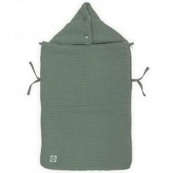 Jollein - Śpiworek oddychający do wózka i fotelika Basic Knit ASH GREEN