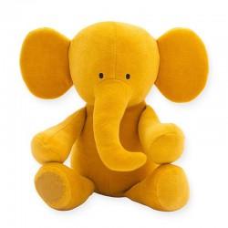 Jollein - Przytulanka Słoń Elephant Mustard