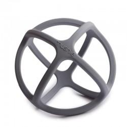 Mushie - Gryzak sensoryczny 3D silikonowy BALL Dove Grey