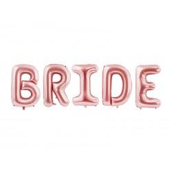 Balon foliowy Bride, 280x86cm, różowe złoto