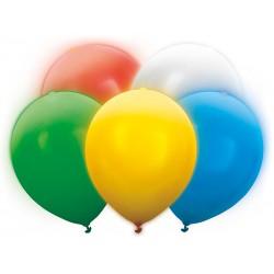 Balony Led 30cm, mix (1 karton / 50 op.) (1 op. / 5 szt.)