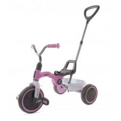 Rowerek trójkołowy ANT PLUS - różowy