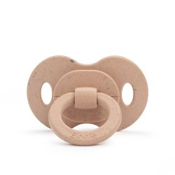 Elodie Details - Smoczek bambusowy lateksowy 3m+ - Blushing Pink