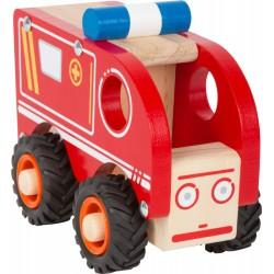 Ambulans Alicja drewniana karetka - autko