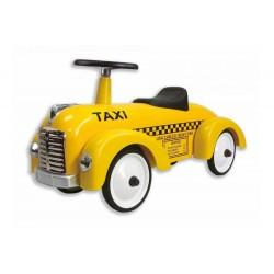 Wyścigówka Taxi metalowy jeździk-Uszkodzony karton
