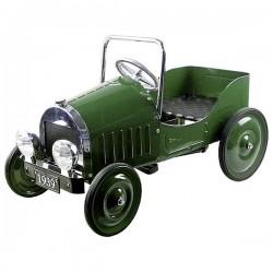 Samochód zielony z pedałami ( rocznik 1939 )