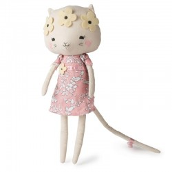 Picca LouLou - Przytulanka Panna Kotek Kitty w kwietnym wianku 33 cm