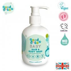 Good Bubble Wegański organiczny żel do mycia włosów i ciała Noworodka i Niemowlaka Cucumber & Aloe Vera250 ml