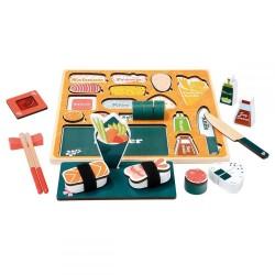 Drewniane Sushi - puzzle 3D