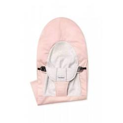 BABYBJORN - poszycie do leżaczka Balance Soft, Light Pink/Grey, Cotton/Jersey