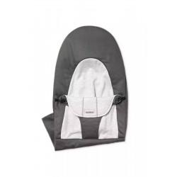 BABYBJORN - poszycie do leżaczka Balance Soft, Dark Grey/Grey, Cotton/Jersey