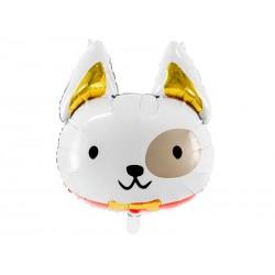 Balon foliowy Pies, 56x65 cm, mix