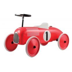 Metalowy Czerwony jeździk - ekologiczny