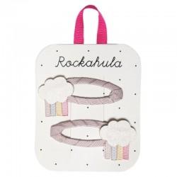 Rockahula Kids - 2 spinki do włosów Rainy Cloud