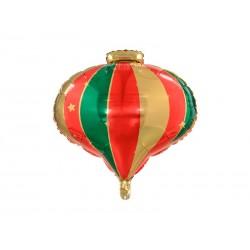 Balon foliowy Bombka, 51x49cm, mix
