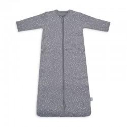 Jollein - Śpiworek niemowlęcy całoroczny 4 Pory Roku 2 śpiworkowy Spickle Grey 70 cm