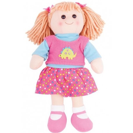 Duża lalka szmaciana Zuzia 38cm