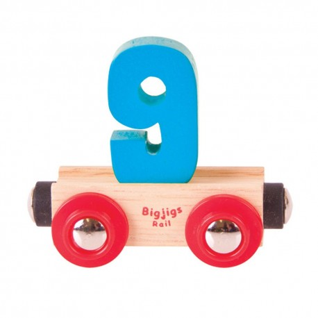 Wagonik cyferka 9